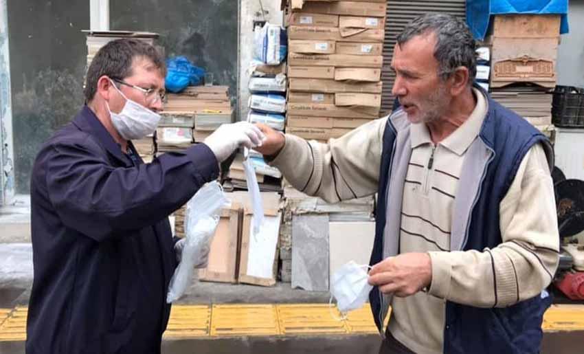 Yağlıdere Belediyesi Ücretsiz Maske Dağıtımına Başlandı