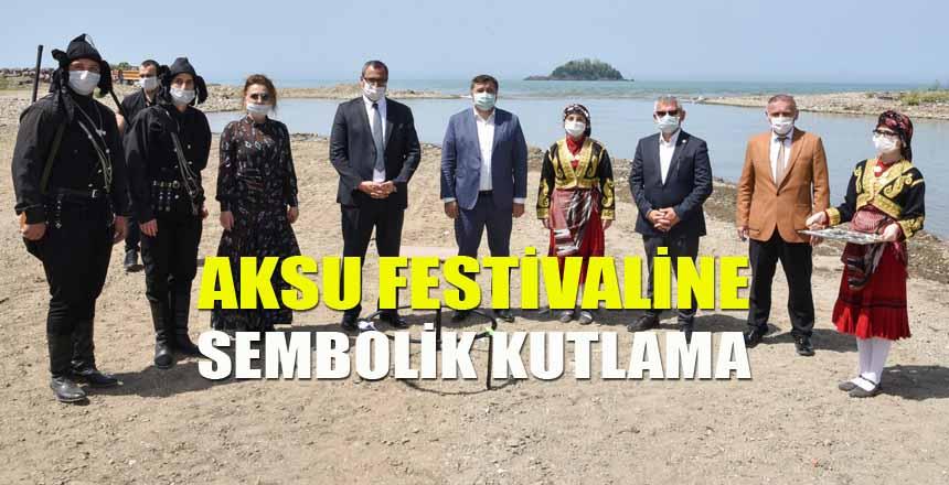 Aksu Festivali Sembolik Kutlandı
