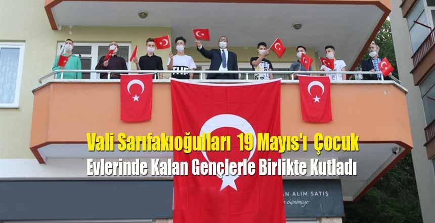 Sarıfakıoğulları 19 Mayıs'ı Gençlerle Birlikte Kutladı
