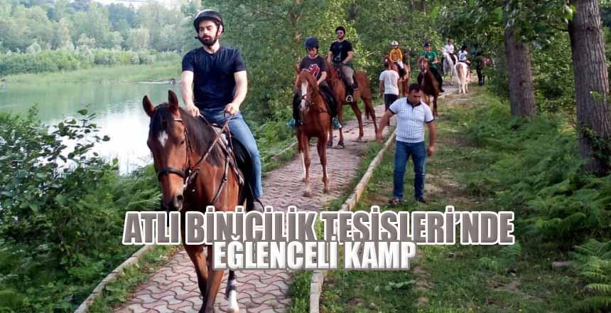 Atlı Binicilik Tesisleri'nde Eğlenceli Kamp
