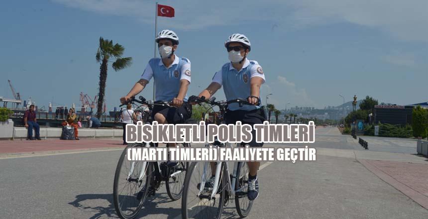 Bisikletli Polis Timleri Faaliyete Geçtir