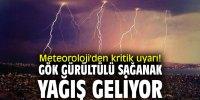 Gök Gürültülü Sağanak Yağış Geliyor!
