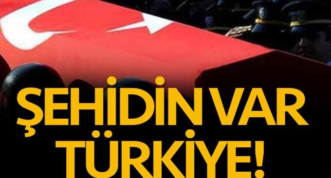 Şehidin Var Türkiye!