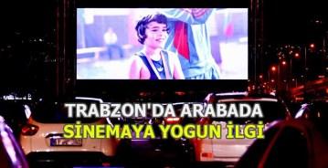 Trabzon'da Arabada Sinema Keyfi