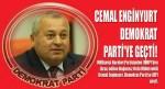 Cemal Enginyurt Demokrat Parti'ye geçti!