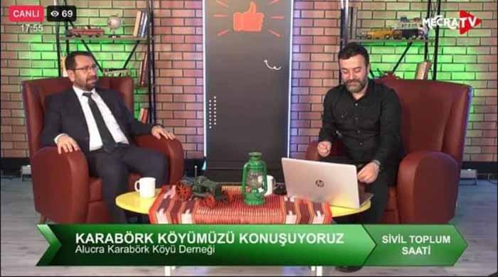Karabörk Köyü Mecra Tv'de İzlenme Rekoru kırdı.