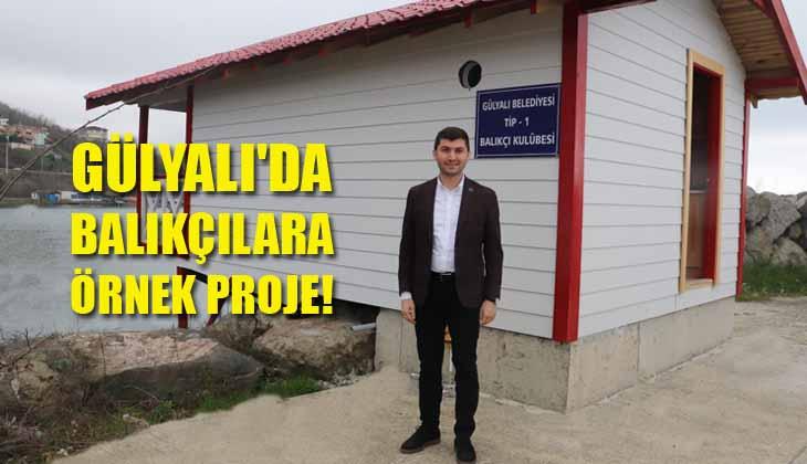 Gülyalı'da Balıkçılara Örnek Proje!