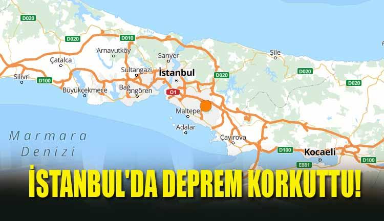 İstanbul'da Deprem Korkuttu!