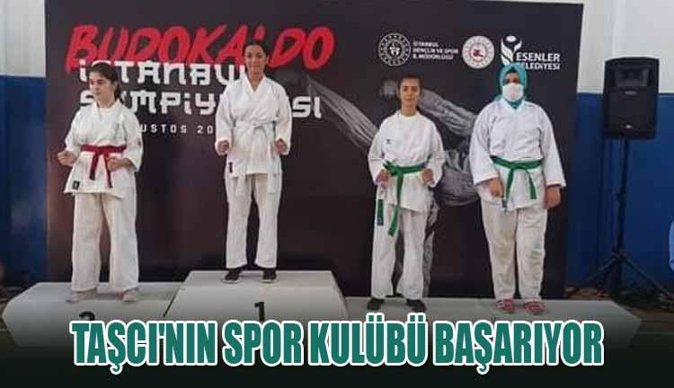 Taşcı'nın Spor Kulübü Başarıyor