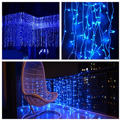 Led Icicle Lights Multi Color