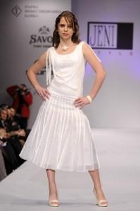 Андреа Стефанова -13-годишната дъщеря на г-жа Живкова, която се изявява и на модния подиум. Фото: © Мони Франсес