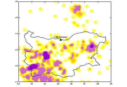 Според проучване на Геофизичния институт на БАН, площадката на АЕЦ