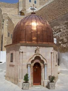 Гробницата на Св. Сава.Манастирът