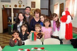 Дечица от първото българското училище