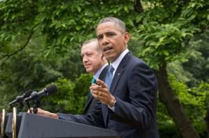 Президентът на САЩ Барак Обама и Премиера на Турция Реджеб Таийп Ердоган дадоха специална пресконференция в