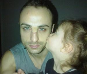 Татко Митко и Деа. Димитър Бербатов има две дъщери, но иска да има и момче.