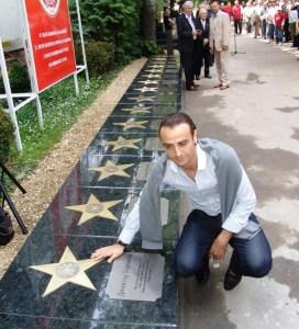 Митко Бербатов със звезда на