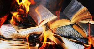 Хартията изгоря, като в романа