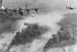 Формация бомбардировачи В-24