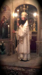 Епископ Даниил води Църковните служби на български, както и на английски език, както на Великден, така и на Цветница и през цялата Велика Седмица т.г. 2014