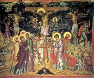 """Иисус Христос, разпитван, вина Му вменили, а Пилат му издал тежка присъда, пoдстрекан от агресивната завистлива и злобна тълпа, която ревяла """"Разпни Го"""" (от там идва името"""