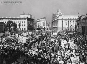 Bulgaria May 1 Manifestacia