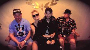 DEEP ZONE PROJECT - 1та им снимка в Лос Анджелес, 29 май 2014, Хотел