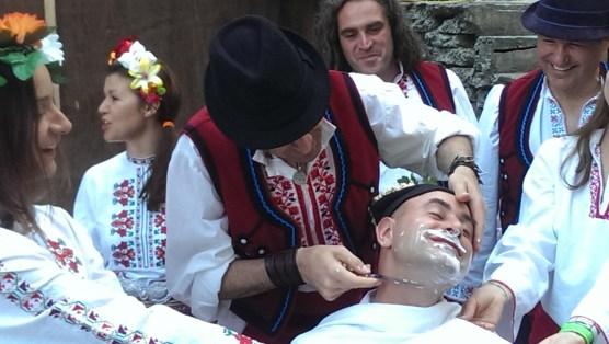 25 май 2014 г. Бръсненето на младоженеца Росен Начев.
