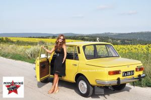 Maia Ivanova, RETRO MUSEUM BULGARIA, and  East German car