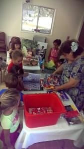 13 септември 2014 г. Водещата занятията в Школата по Родолюбие