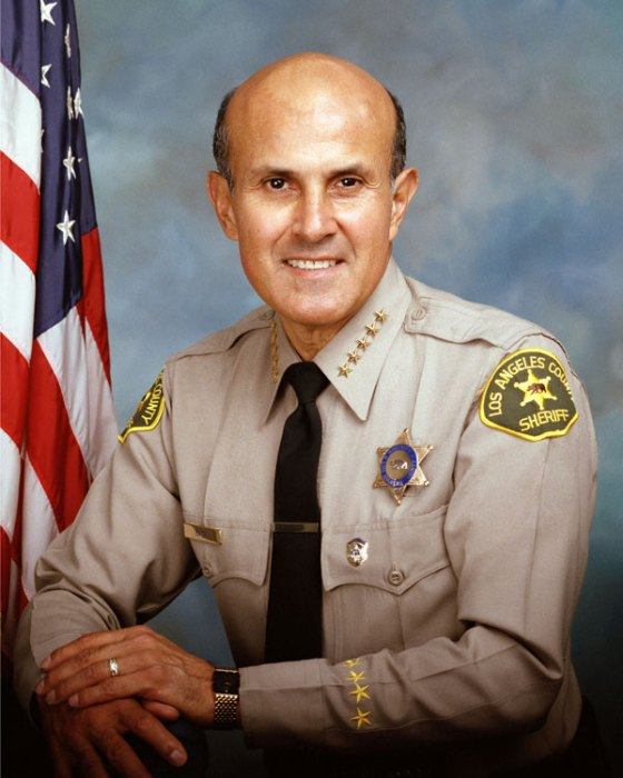 Бившият Шериф на Лос Анжелис Лий Бака