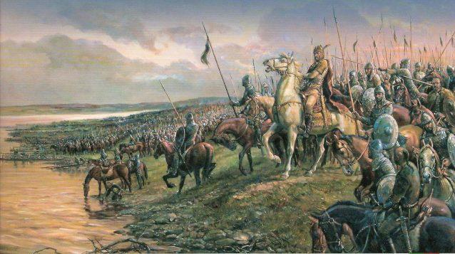 Аспарух и конницата на българите в устието на Дунав, А. А.-Хофарт