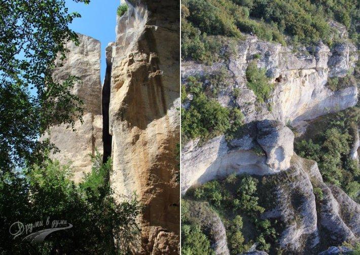 Мадарските скали до Мадарския конник