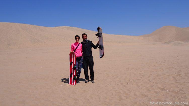 С Антон и Пламена по света: Сандбординг в оазиса Хуакачина