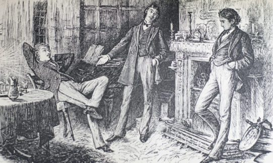 """Първо издание на последната новела на Чарлз Дикенс / 1870 г. - """"Мистерията на Едуин Друуд"""""""