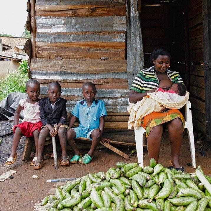 Sylvia / Уганда снимка: Тина Бояджиева