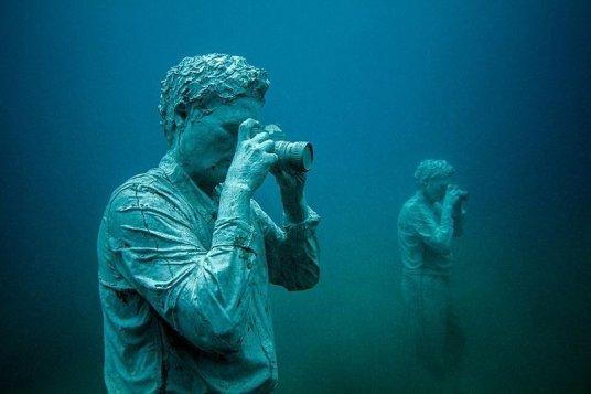 Първият подводен музей в света