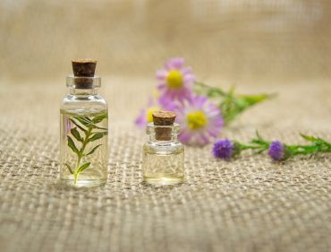 Canva - Essential Oils in Small Bottles
