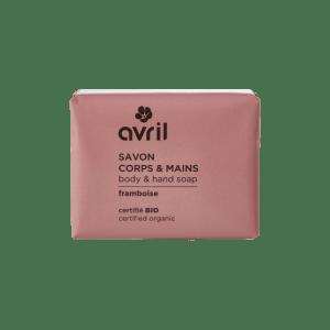 savon-corps-mains-framboise-bio