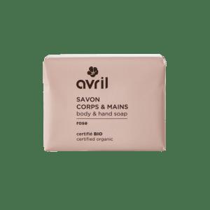 savon-corps-mains-rose-bio