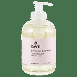 savon-liquide-mains-bio-rose