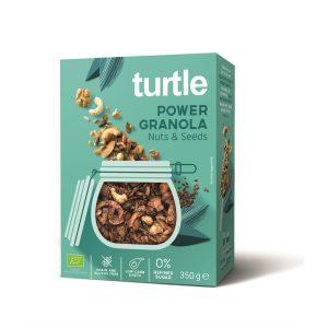 Turtle Power Granola Noix&Graines 350g sans gluten