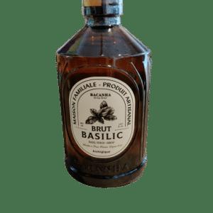 sirop de basilic