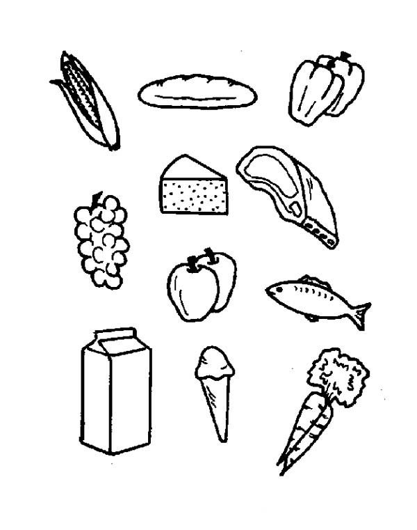 Food Color Pages. Chili Pepper Coloring Page. Taco Coloring Pages ...