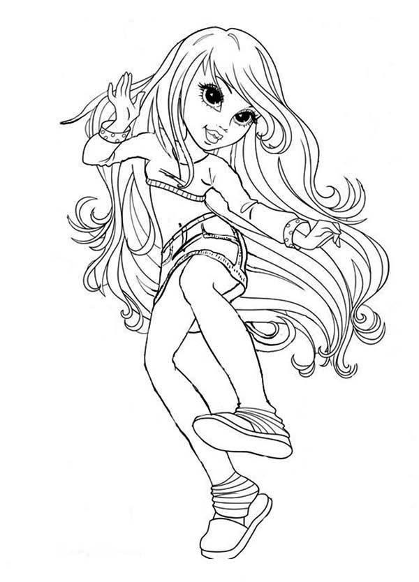 moxie girlz lexa the fun girl in moxie girlz coloring pages