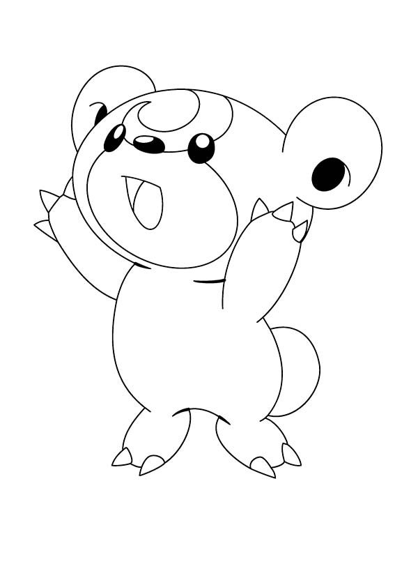 funny and cute pokemon coloring pages bulk color
