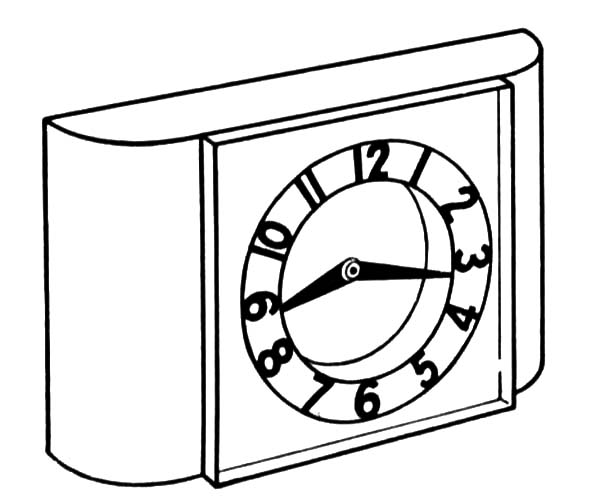 alarm clock coloring page alarm clock coloring page printable