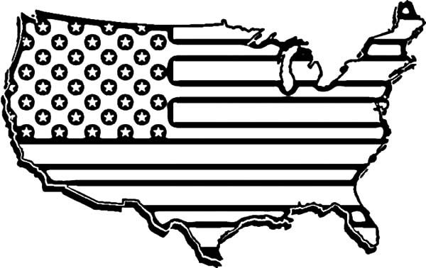 american revolution flag map coloring pages bulk color