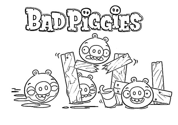 angry bird attacking angry bird pigs coloring pages bulk color
