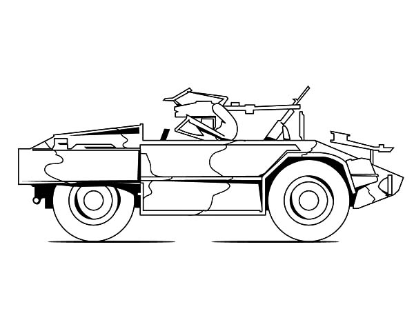 army car jeep for patrol coloring pages army car jeep for patrol